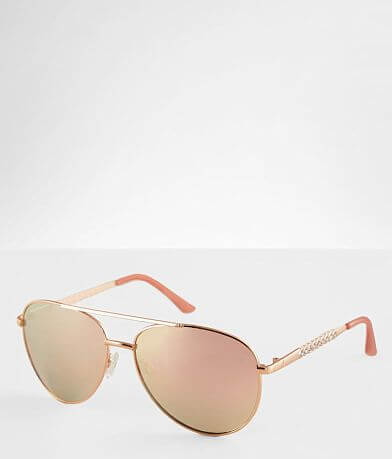 BKE Glitz Aviator Sunglasses