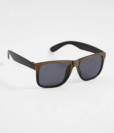 BKE Gradient Woodgrain Sunglasses