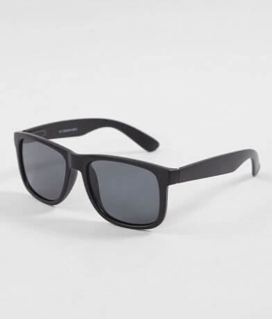 BKE Matte Black Sunglasses