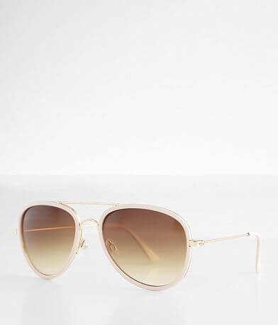 BKE Framed Aviator Sunglasses