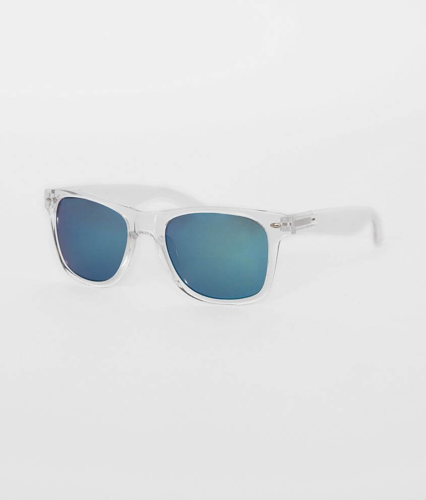 BKE Clear Dean Sunglasses front view