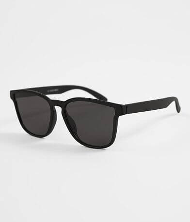 BKE Black Square Sunglasses