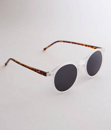 BKE Round Two Tone Tortoise Sunglasses