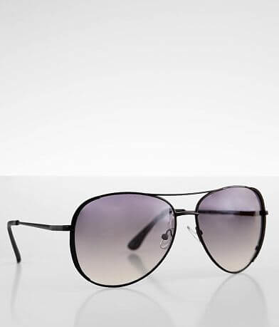 BKE Textured Aviator Sunglasses