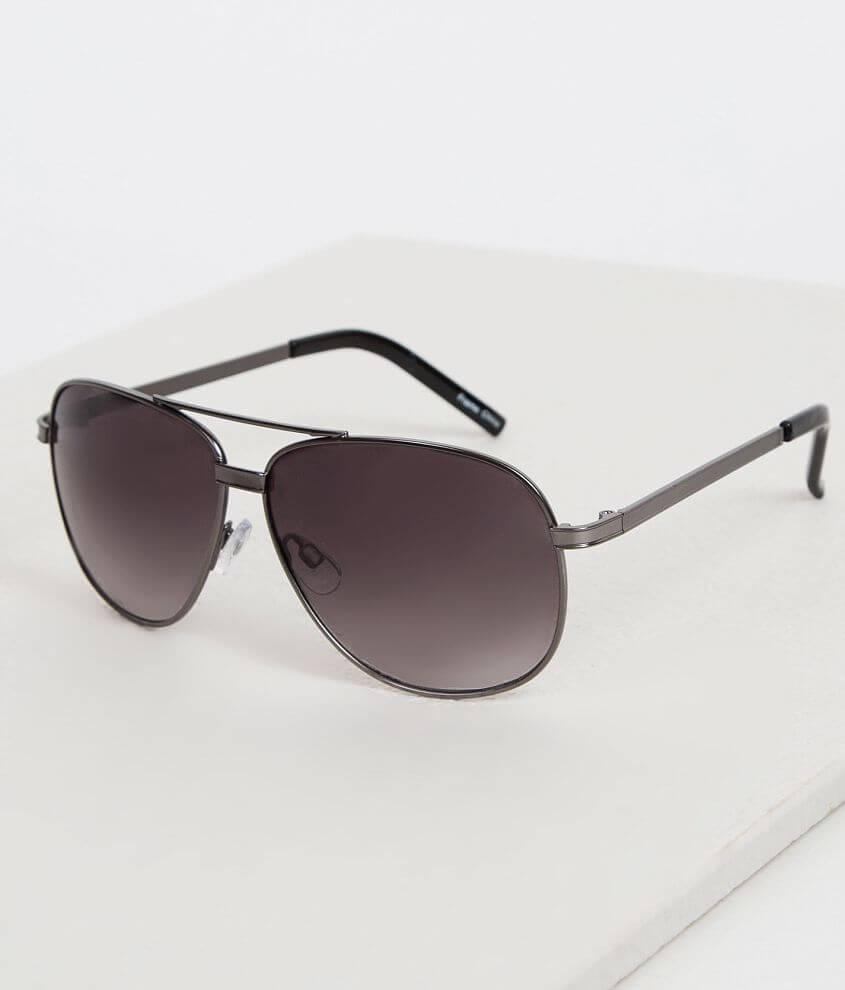 BKE Matte Aviator Sunglasses front view