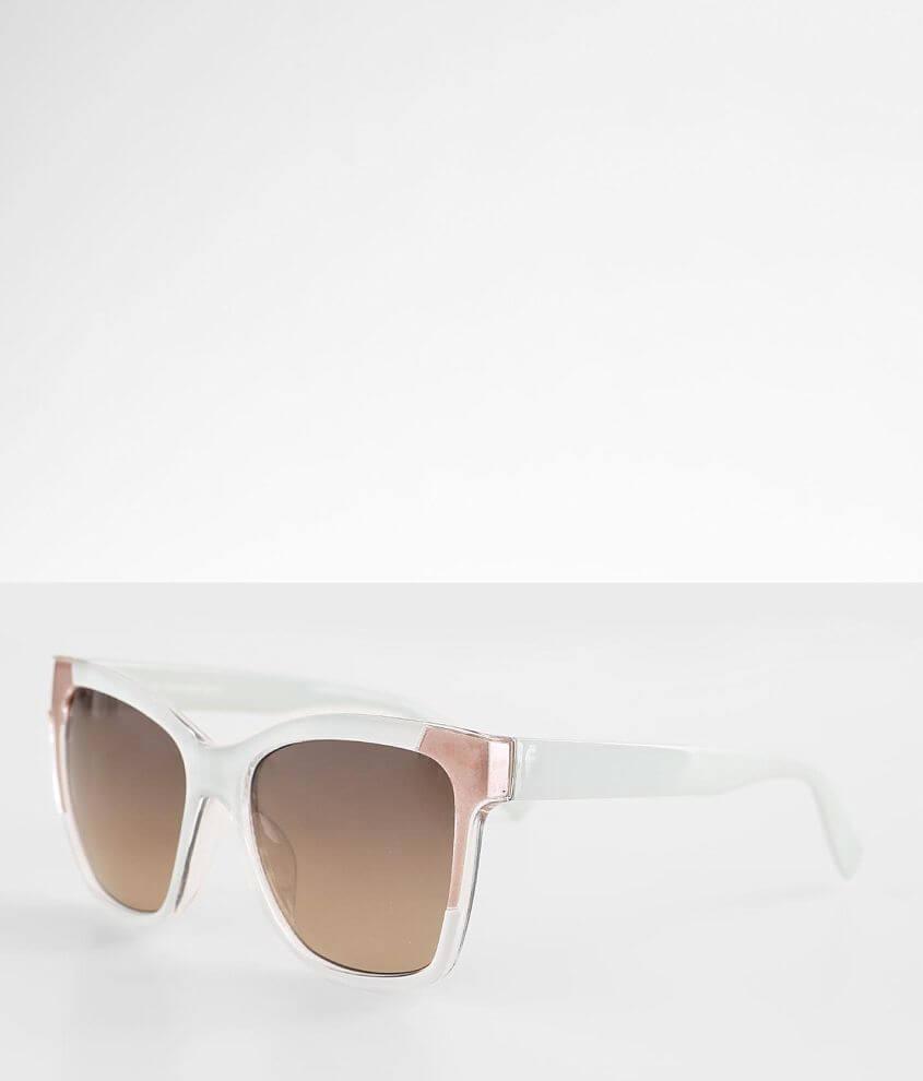 BKE Color Block Sunglasses front view