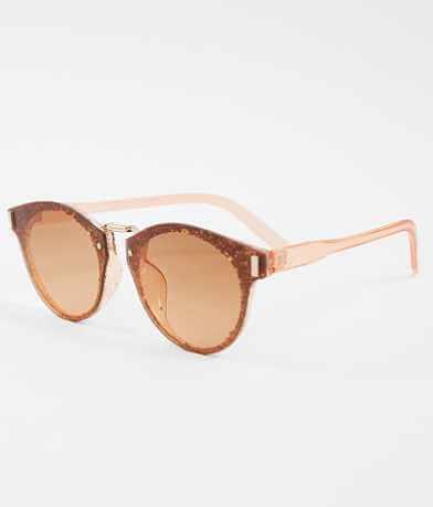 BKE RoundGlitter Sunglasses