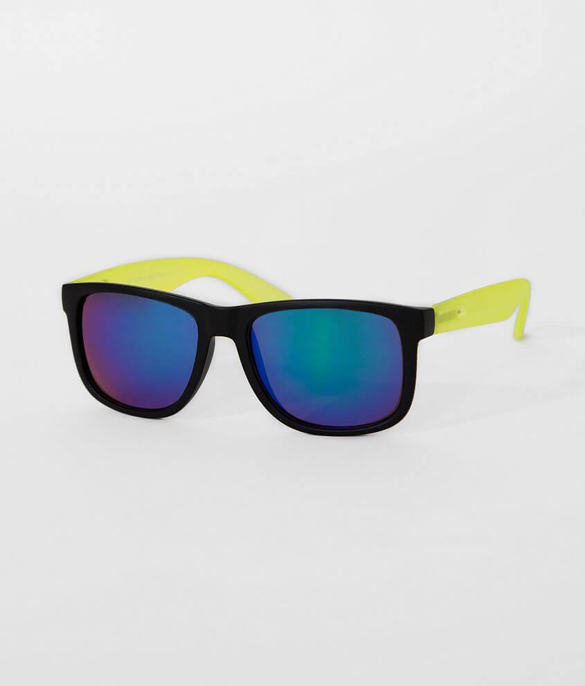 BKE Neon Sunglasses front view