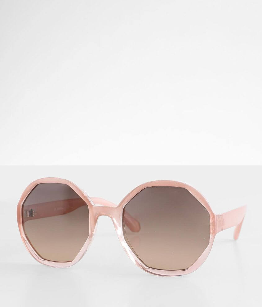 BKE Rounded Sunglasses front view