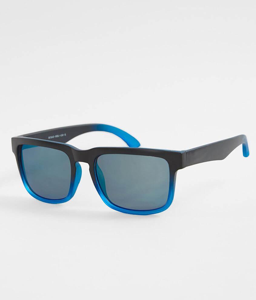 147254a8a1669 BKE Blue Gradient Sunglasses - Men s Accessories in Black Blue