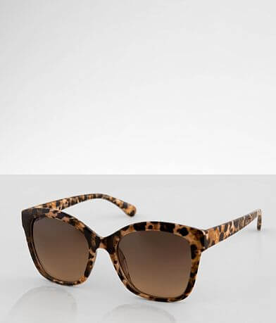 BKE Leopard Sunglasses