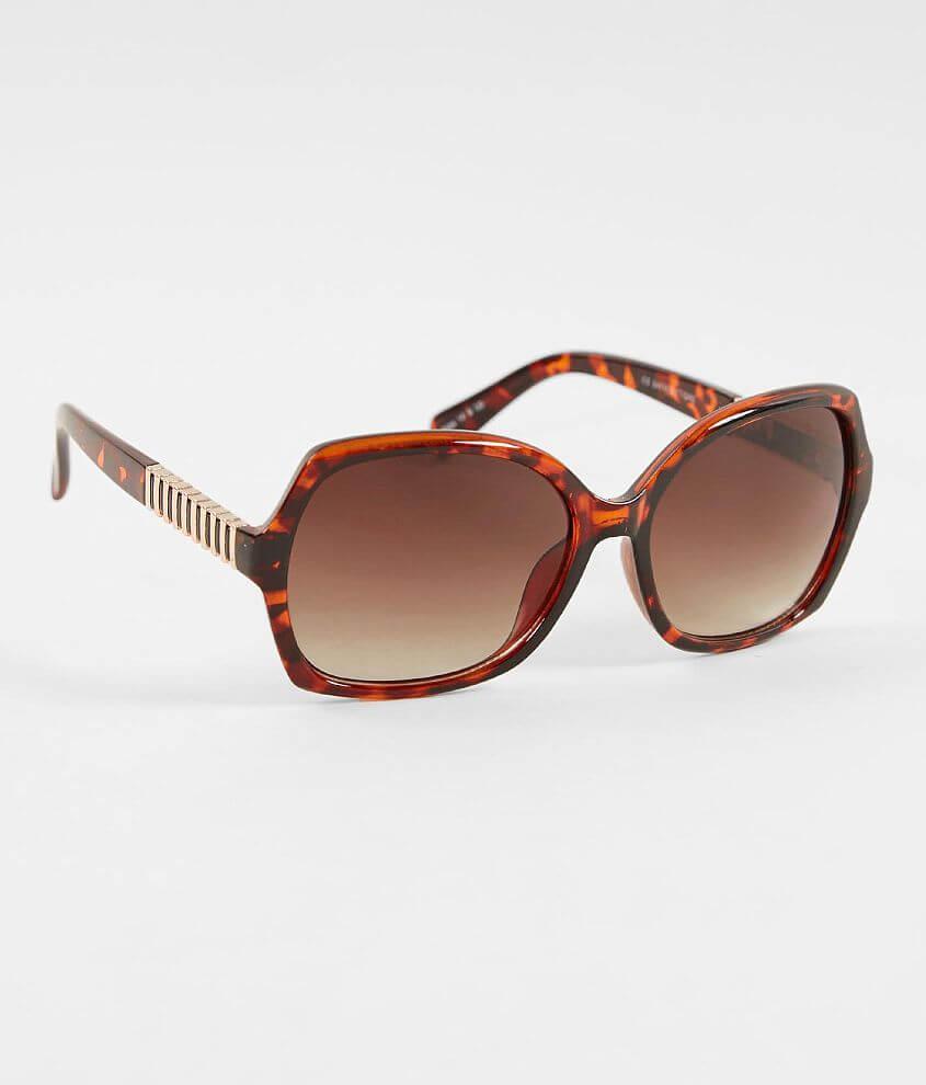 Plastic tortoise frame sunglasses Gradient lenses 100% UV protection See more 2 for $20 styles!