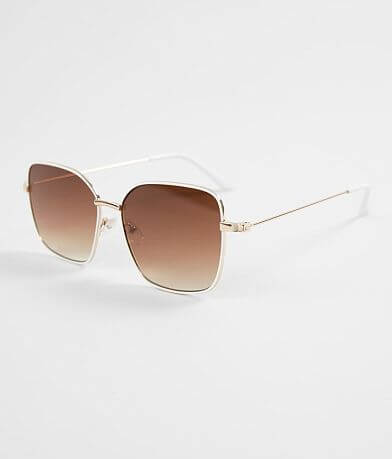 BKE Oversized Square Sunglasses