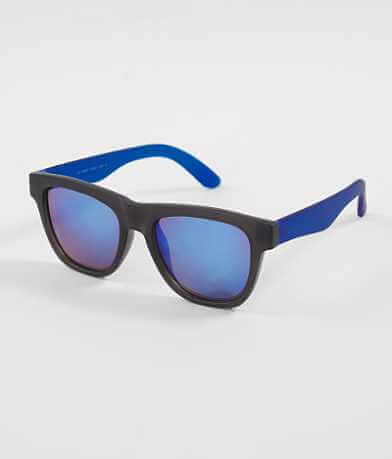 BKE Matte Blue Sunglasses