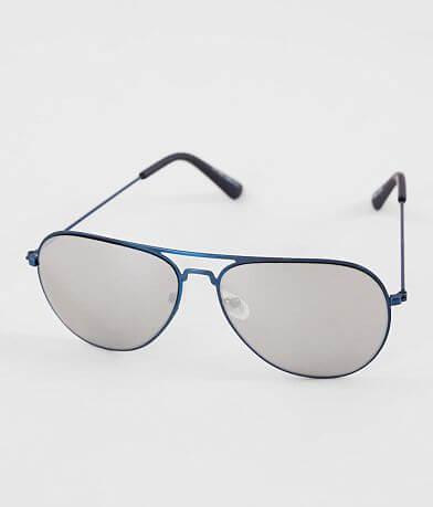 BKE Smoke Lens Aviator Sunglasses