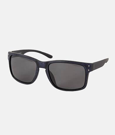 BKE Tonal Woodgrain Sunglasses