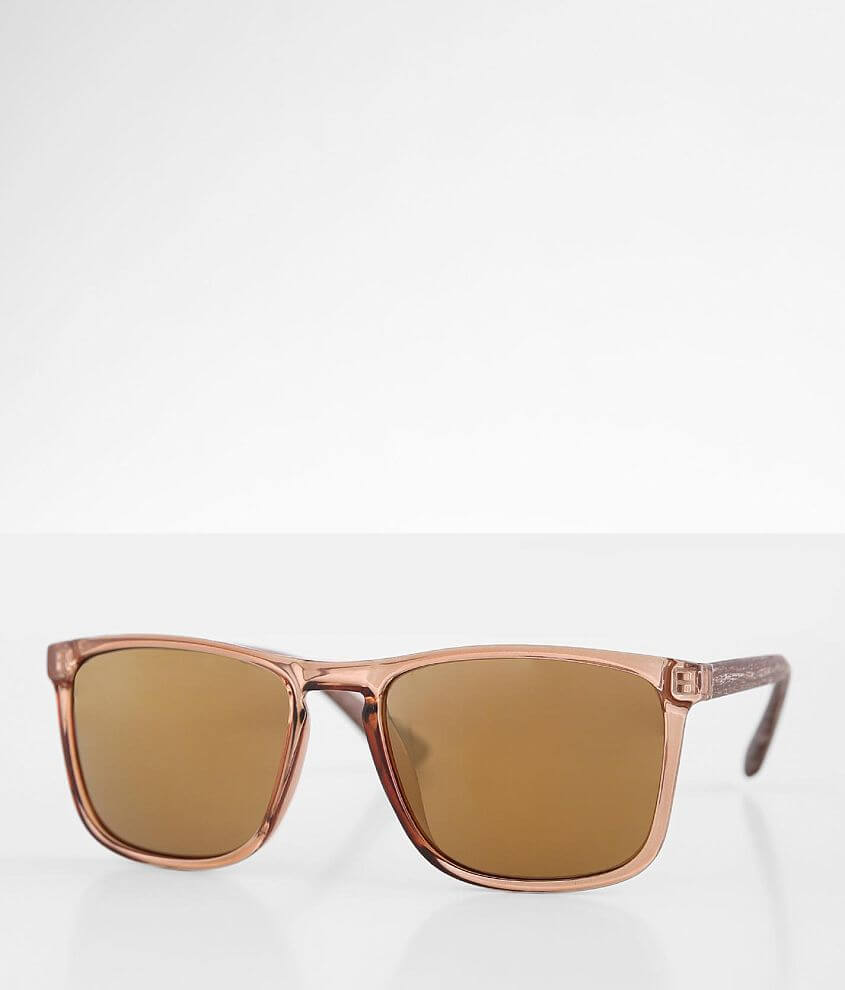 BKE Textured Stem Sunglasses front view