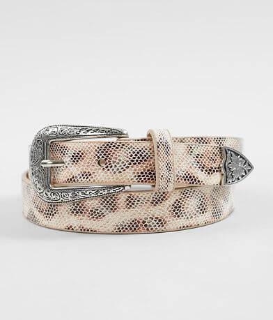 BKE Leopard Print Belt