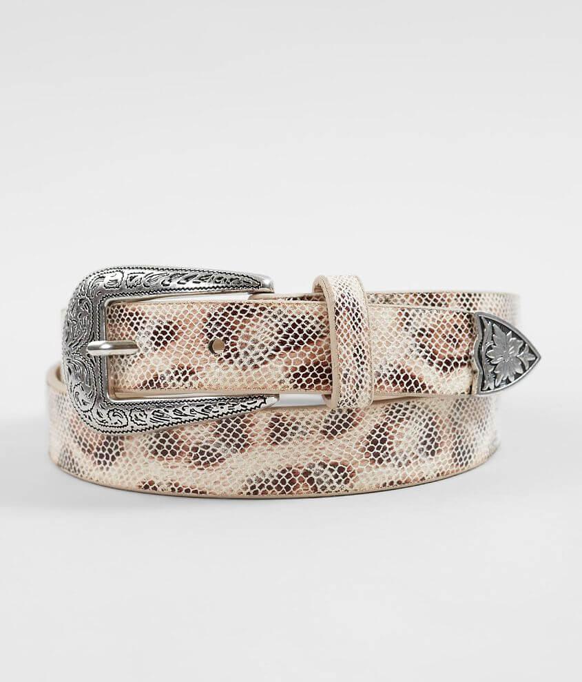 5dabc6d3de BKE Leopard Print Belt - Women's Accessories in Leopard   Buckle