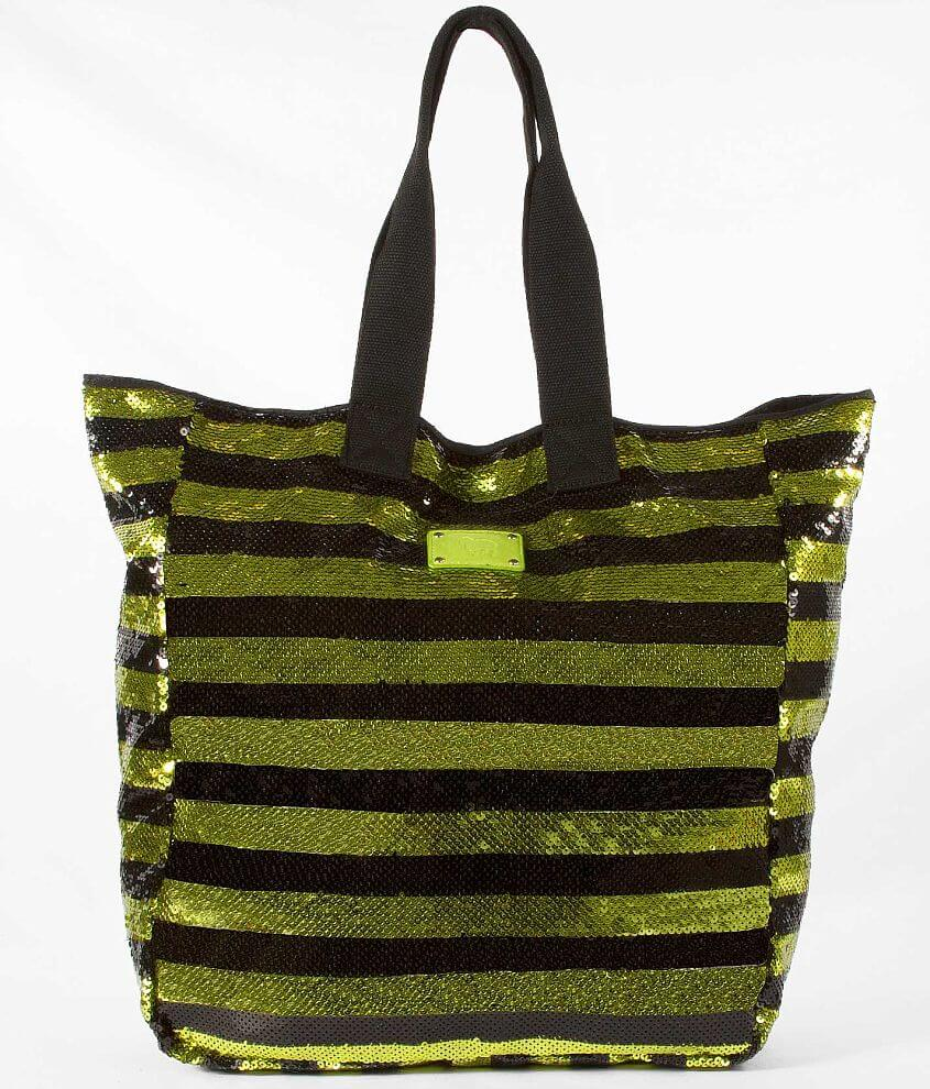 Sundae Sky Sequin Tote front view
