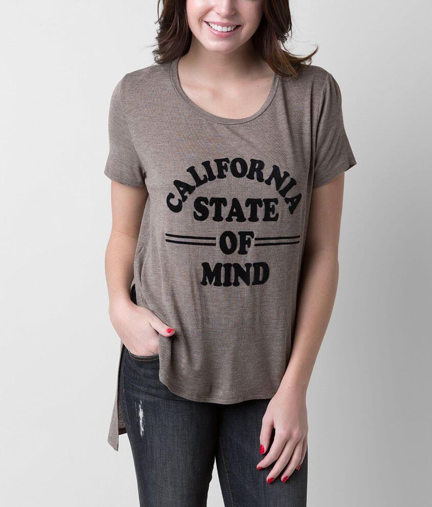 Gypsies & Moondust California State T-Shirt front view