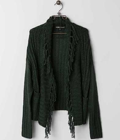 Gypsies & Moondust Fringe Cardigan Sweater