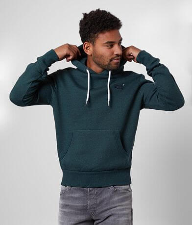 SuperDry® Orange Label Hooded Sweatshirt