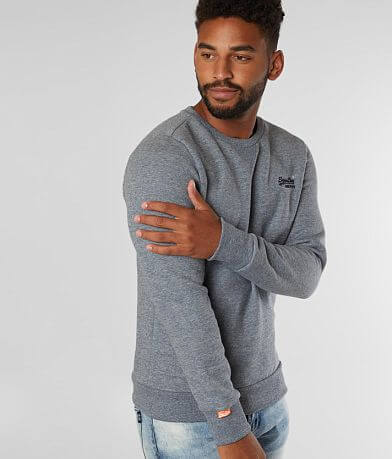 SuperDry® Orange Label Crew Neck Sweatshirt
