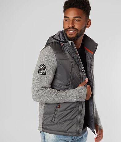 SuperDry® Storm Hybrid Hooded Jacket