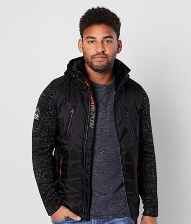 SuperDry® Storm Hybrid Hooded Jacket