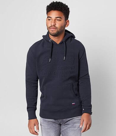 SuperDry® Tonal Embossed Sweatshirt