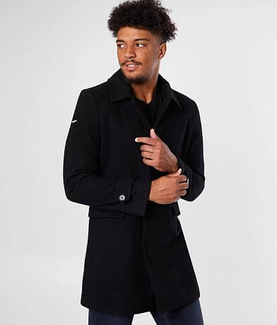 SuperDry® The Edit Wool Blend Coat