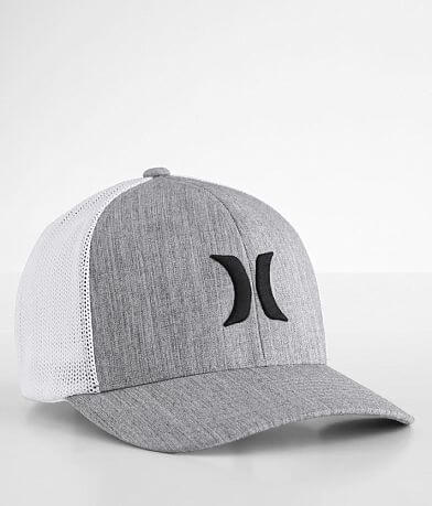 Hurley Icon Textures Stretch Hat