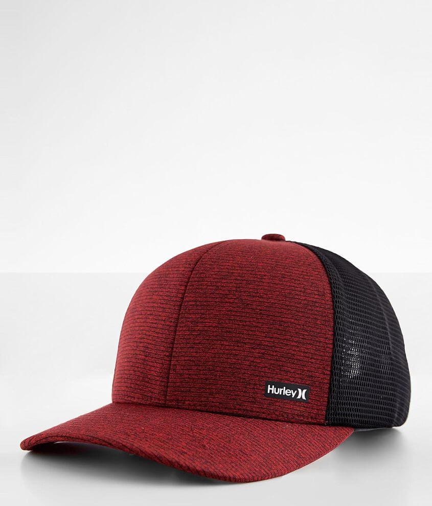 Hurley Tandem Trucker Hat front view