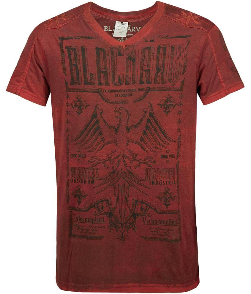 BlacKARV Mota V-Neck T-Shirt front view
