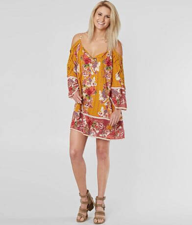 Angie Cold Shoulder Dress