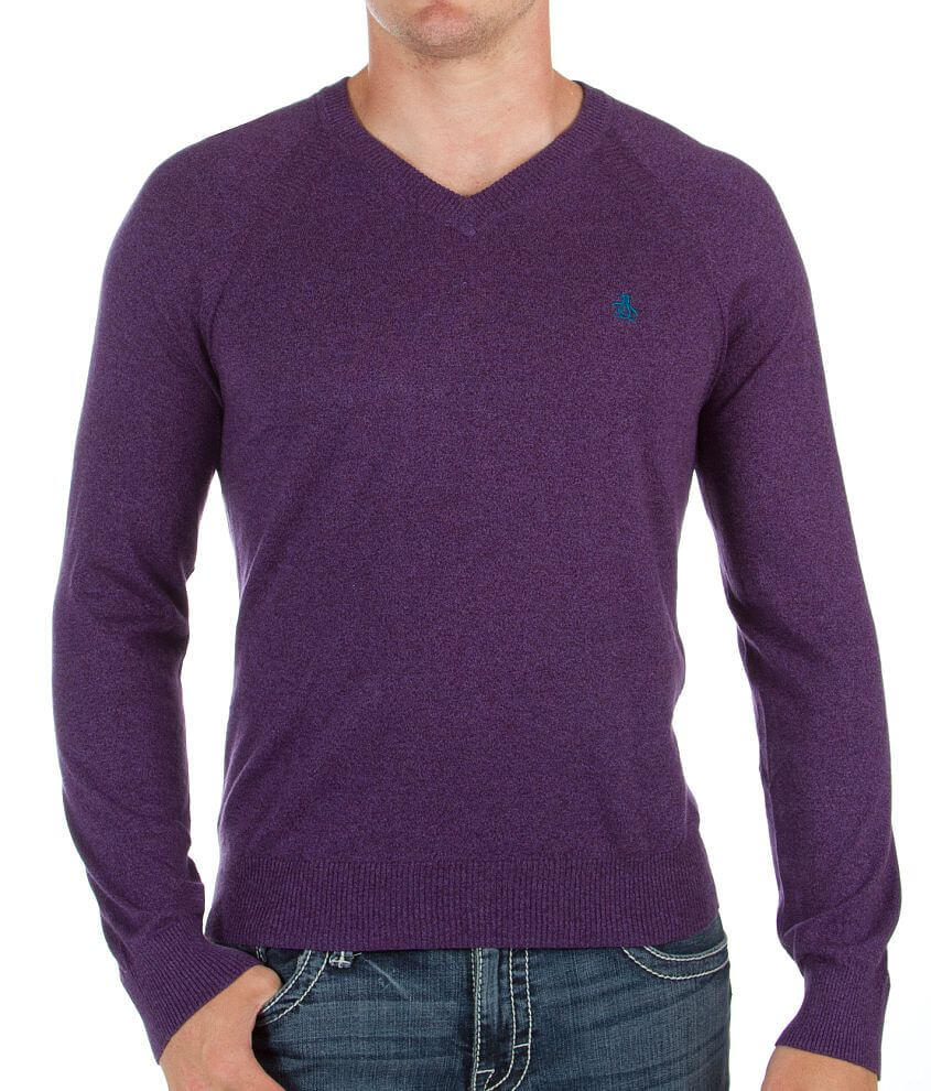 Penguin V-Neck Sweater front view