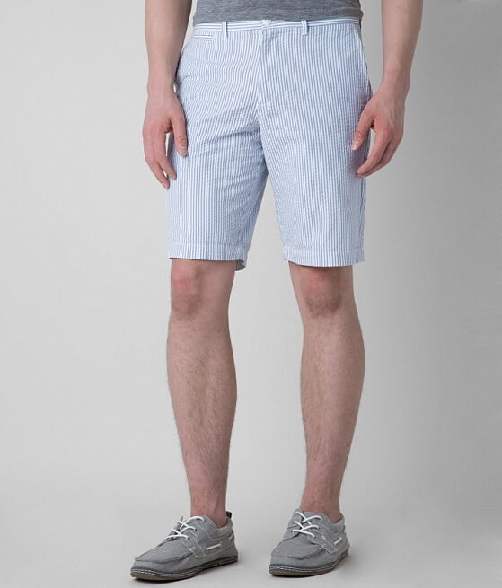 Penguin Seersucker Short - Men's Shorts in 420 Faded Denim | Buckle