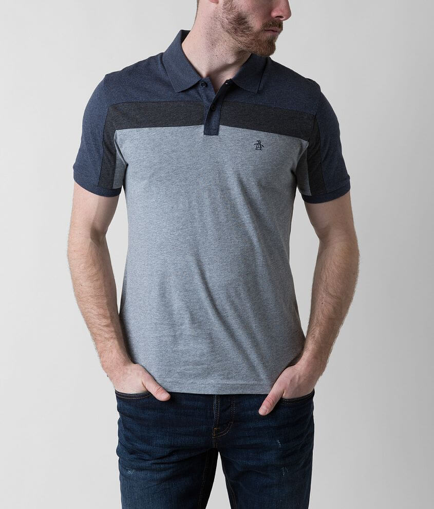 Penguin Clean Lines Polo front view