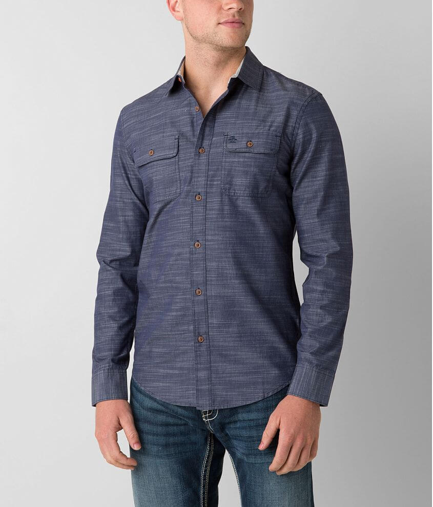Penguin Marled Shirt front view