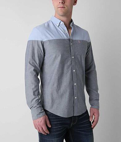Penguin Color Blocked Oxford Shirt