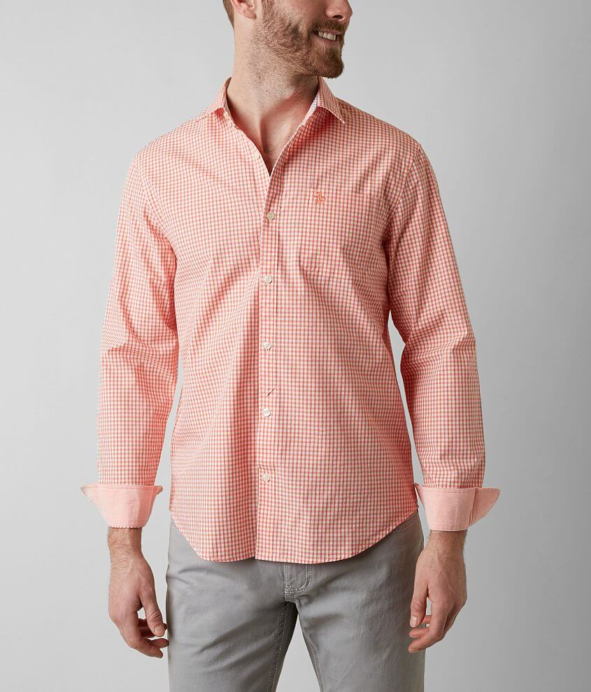 Penguin Gingham Shirt front view