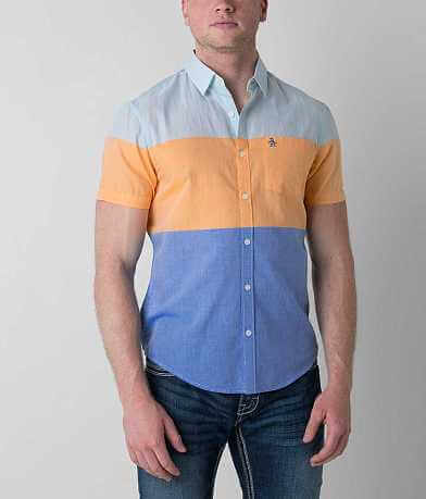 Penguin Color Block Shirt