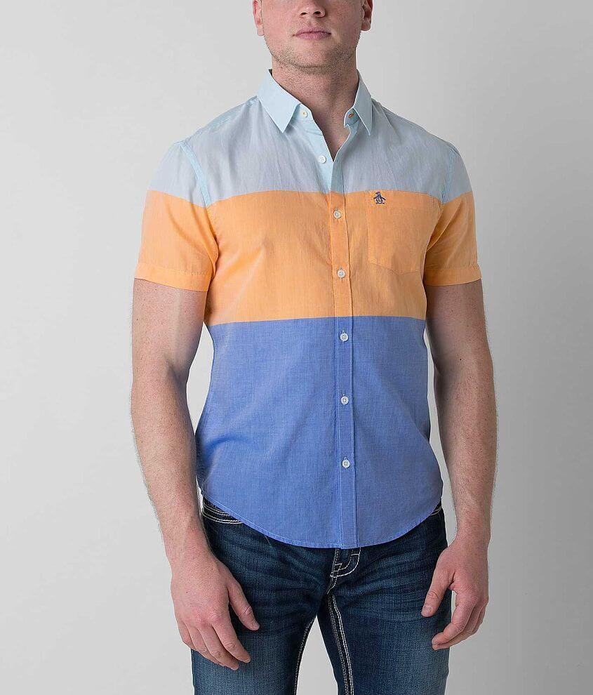 Penguin Color Block Shirt front view