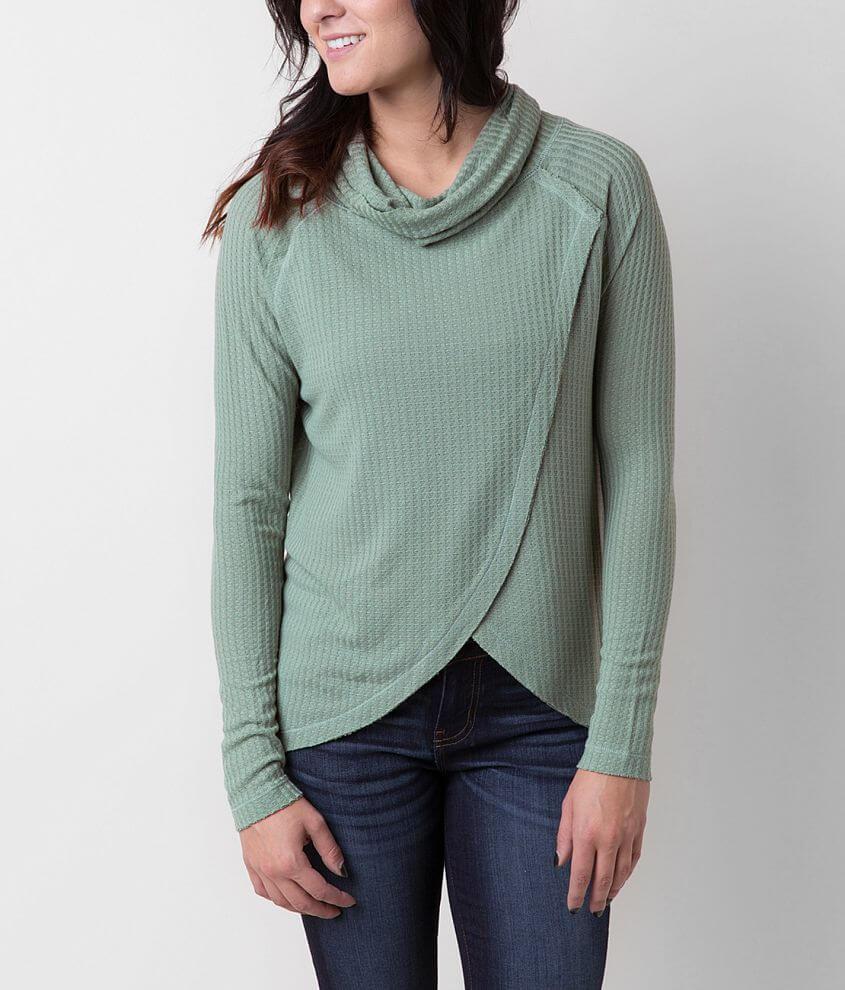 Daytrip Cowl Neck Top front view