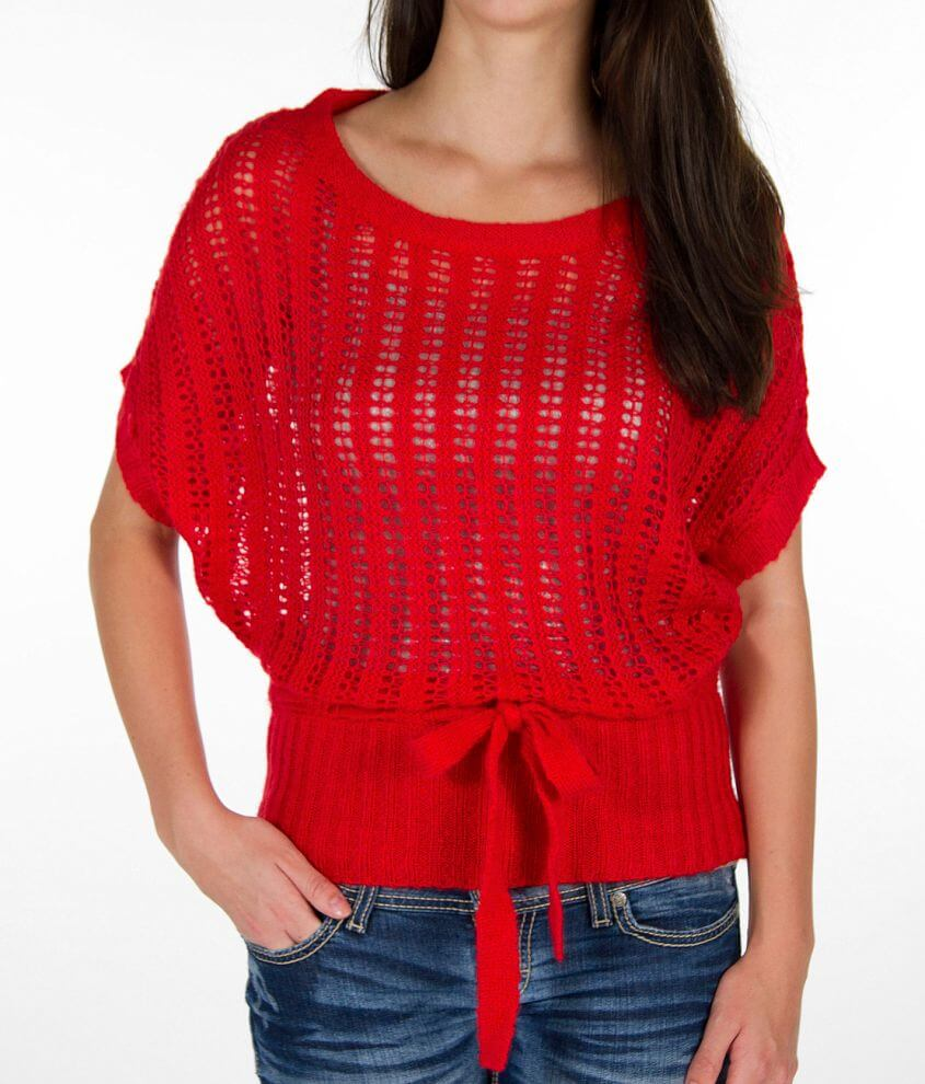Daytrip Crochet Sweater front view