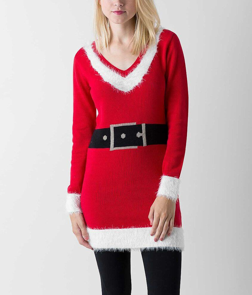 Sweater Project Santa Tunic Sweater front view