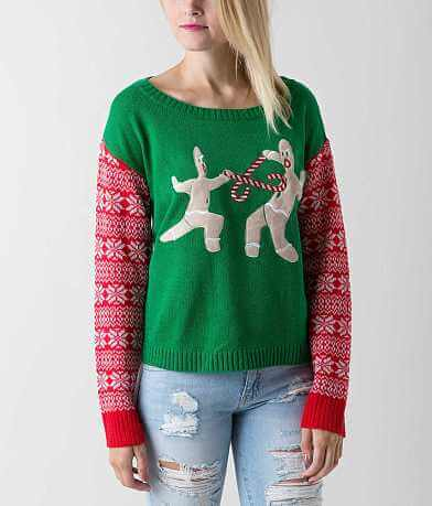 Sweater Project Gingerbread Men Sweater