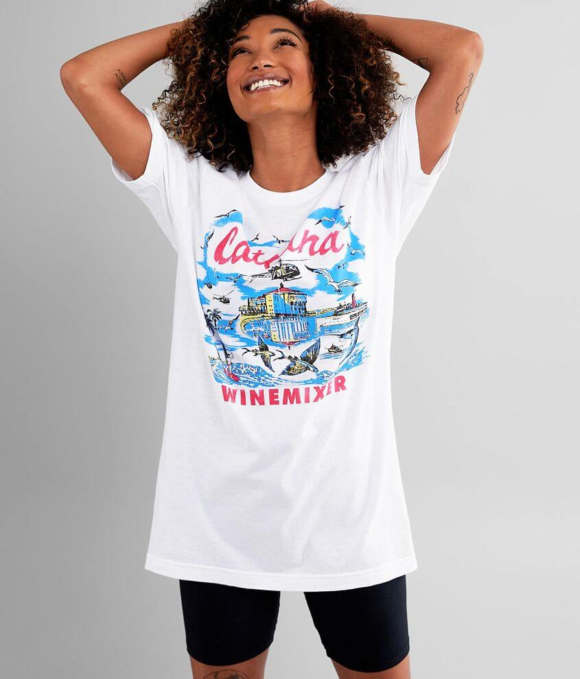 Step Brothers™ Catalina Wine Mixer T-Shirt front view