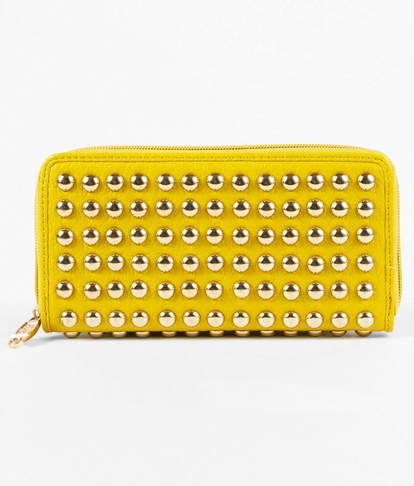 Symeli Studded Wallet front view